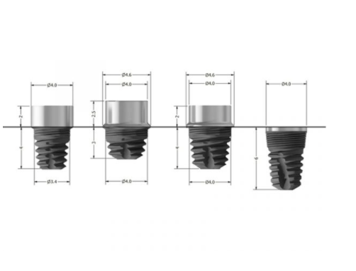 Implant Dimensions